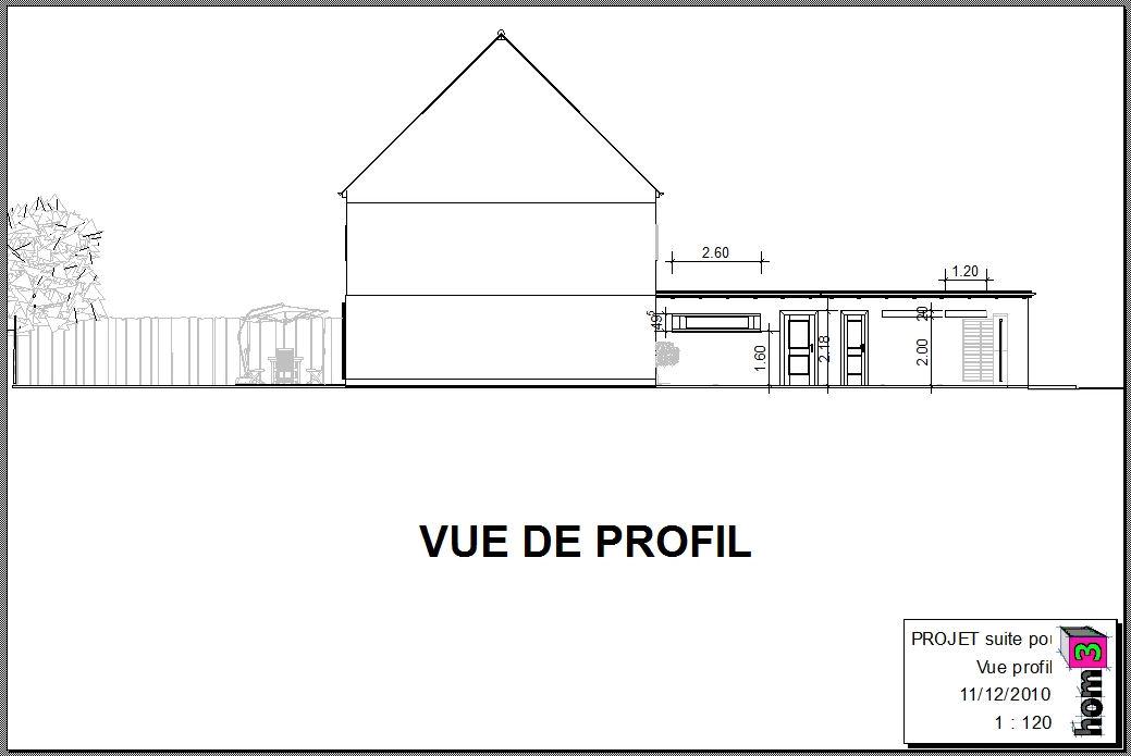 Hom3 le conseil deco construction d 39 une extension et d for Demande permis de construire garage