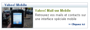 Lancement de Yahoo Mobile France