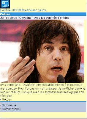 Jean Michel Jarre rejoue Oxygène avec les synthés d origine