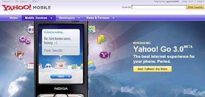 Yahoo Go 3.0 Béta