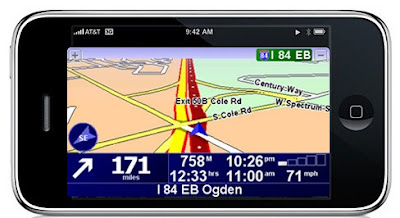 TomTom Navigator sur iPhone