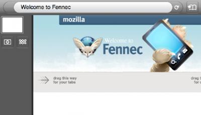 Navigateur Fennec pour mobiles