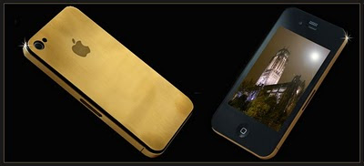 iPhone 4 Gold 24k by Stuart Hughes