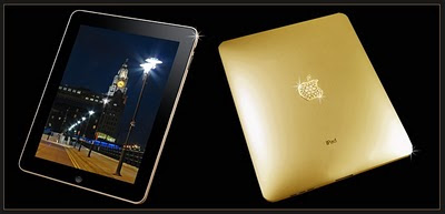 iPad 4 Gold 24k by Stuart Hughes