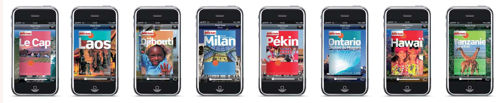 Application iPhone Peiti Futé