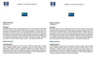 Modèles HP Slate