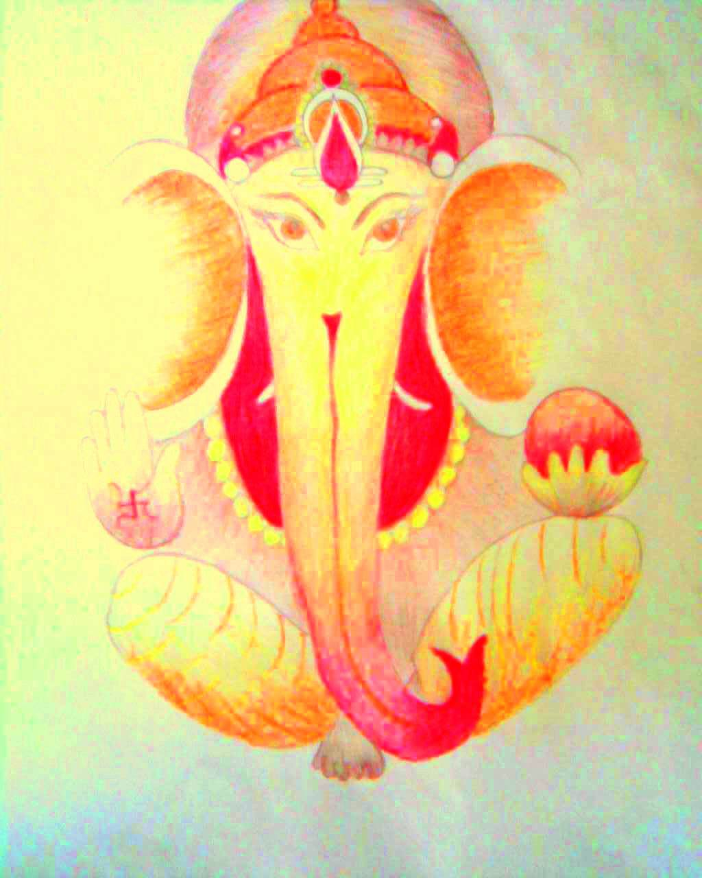 Boundless24x7 Paintings And Drawings Color Pencil Drawings