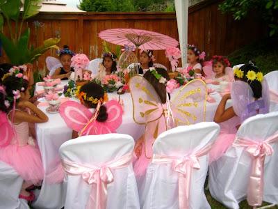 Kreative Kiddie Events Enchanted Garden Fairy Tea Party
