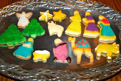 Catholic Cuisine Nativity Cookies
