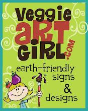 Veggie Art Girl