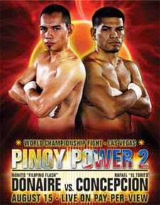 Watch Pinoy Power 2 Donaire vs Concepcion Line Online Video