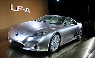 Toyota's luxury Lexus LFA