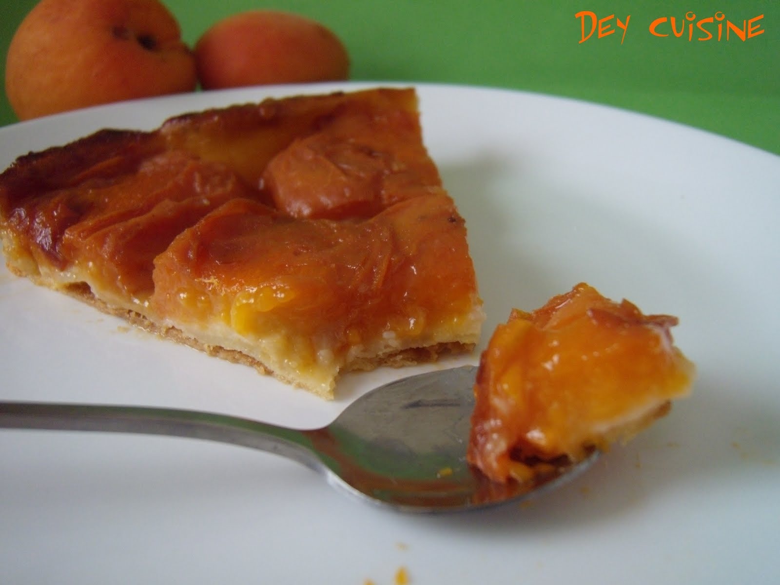 Dey Cuisine Tatin A L Abricot Creme D Amandes