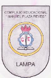 COMPLEJO EDUCACIONAL MANUEL PLAZA REYES DE LAMPA. Si quieres conocerlo, haz clic en la insignia
