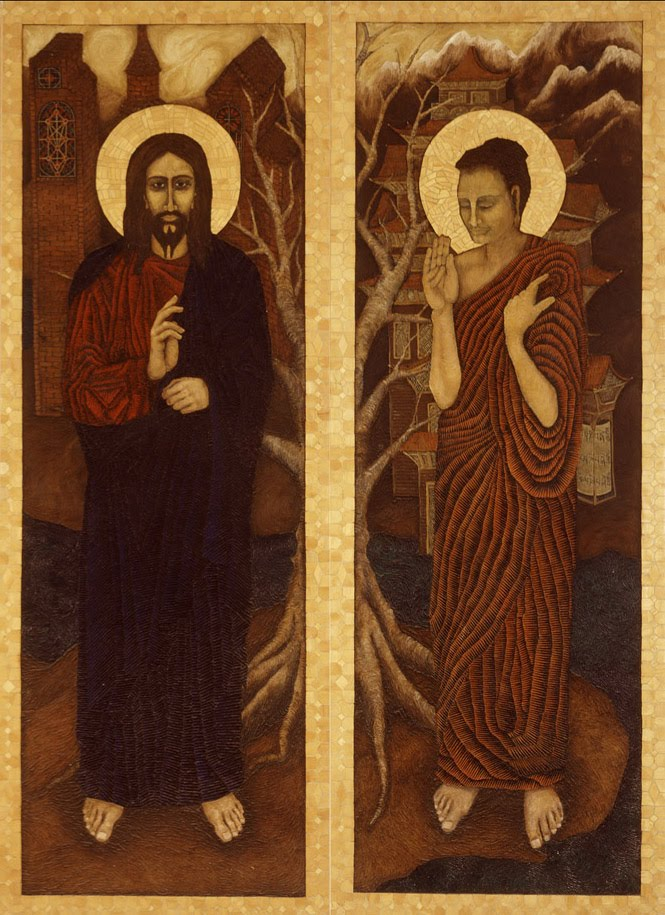 a comparison of buddhism and christianity There is a major world religions - comparison chart here: page on jpschoolsorg islam and christianity, were both formed from judaism whereas buddhism derived from hinduism (the most ancient of these religions.
