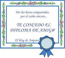 Diploma de amistad