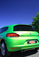 Scorpion Scirocco Petrol RearView 404x600 VW Scirocco 1.4 and 2.0 TSi gets New Exhaust System From Scorpion