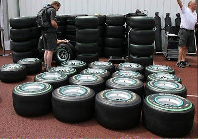bridgestone4 Formula one drivers frustrated with Bridgestone's 2010 tyres