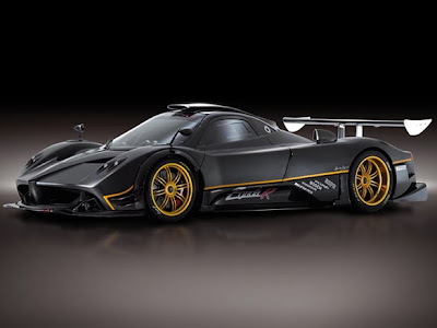pagani zonda r official image Pagani Zonda R beats the Ferrari 599XX's Nurburgring record lap time