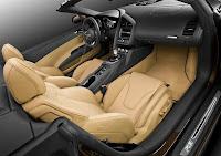 interior bf 2 New Audi 4.2 V8 powered R8 Spyder Photos