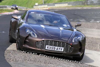 01 one77 Spy Shots   Aston Martin One 77 spotted at the Nurburgring