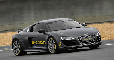 Audi+e Tron+at+Silvretta Audi R8 e tron entered in road rally