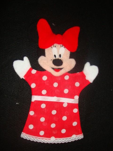 Como hacer un titere de Minnie Mouse - Imagui