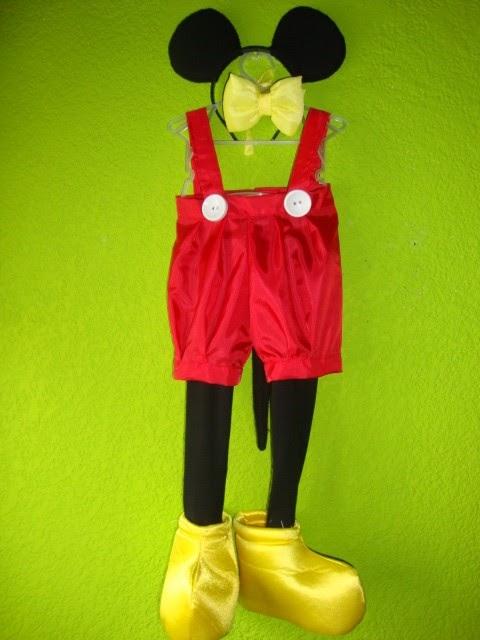 El Baúl de Pacha: Disfraz de Mickey Mouse