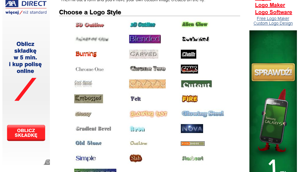 Online Text Logo Design Generators  Picture to People