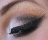 winter inspired make-up