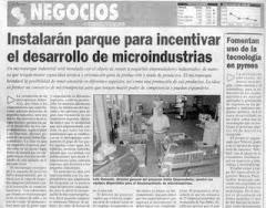 Reportaje Micro Parque Industrial