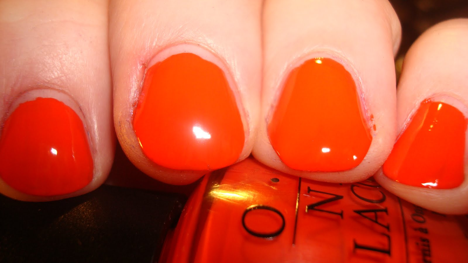 Opi A Good Mandarin Is Hard To Find Vs Hot And Spicy A Good Man-darin is Hard to
