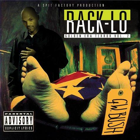 RACK-LO AS THE GOLDEN ERA TERROR VOL. 2 ON SALE NOW