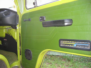 Passenger side door
