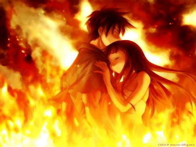 imagenes de amor anime. amor anime