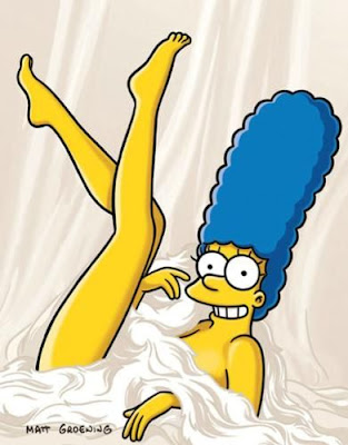 Marge Simpson Conejita Playboy Matt Groening Anime Sey