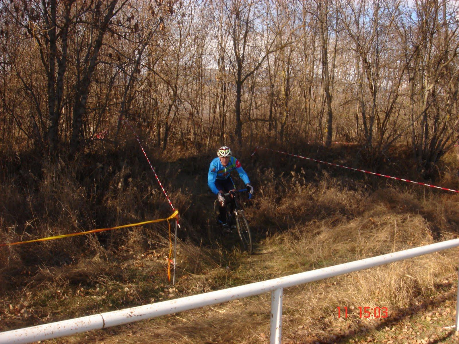 ... cyclocross que feian a bourg madame (frança) el costat de puigcerda