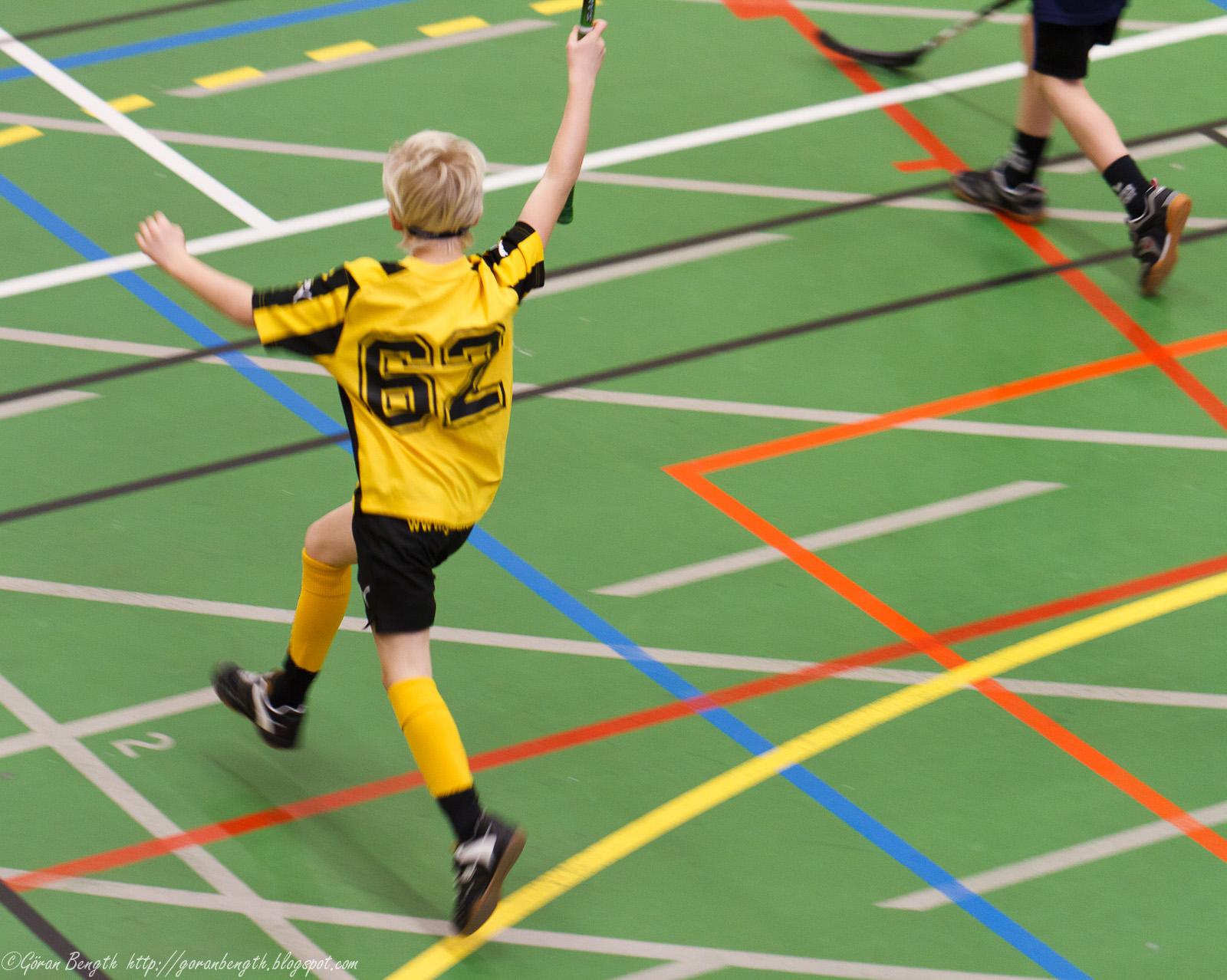 Göran Bength - foto: Innebandy knattespelen 19/12, Lugnet, Falun