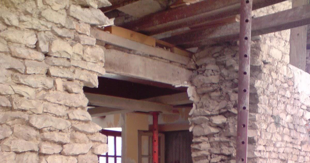 La maison de cuhon ouverture du mur porteur cuisine salon - Ouverture mur cuisine salon ...