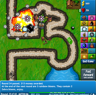 Bloon Tower Defense 3 Hacked - Tower.
