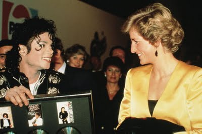 MJ and lady Diana