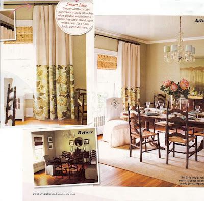 Soul Decor: Serene Green Dining Room makeover