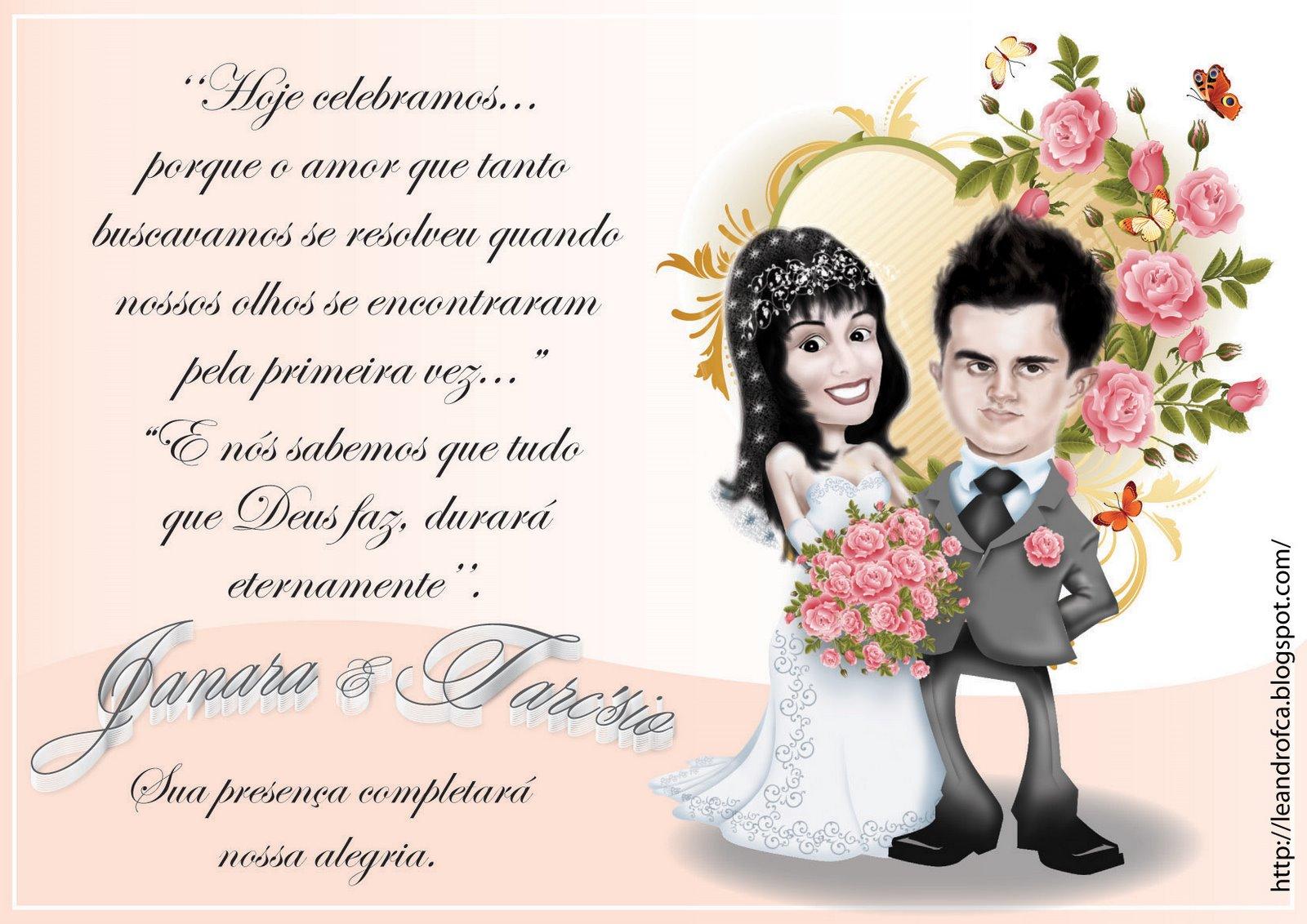 Ajuda Noivas Convites De Casamento