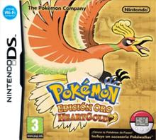 Pokémon Edición Oro - HeartGold