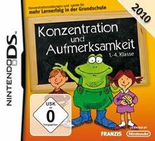 Konzentration und Aufmerksamkeit 1.-4. Klasse