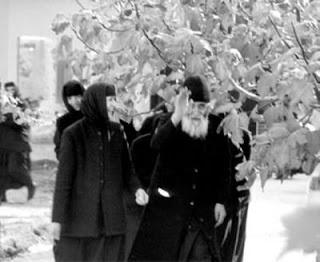 Cuviosul Paisie Aghioritul - la Sf. Manastire a Cinstitului Inaintemergator de la Metamorfosi din Halkidiki