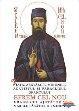 Cartea despre Sfantul Efrem cel Nou - Marele Mucenic din Nea Makri, Grecia