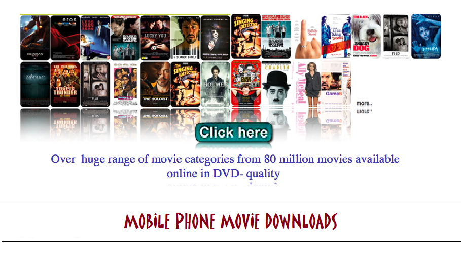 Mobile Phone Movie Downloads