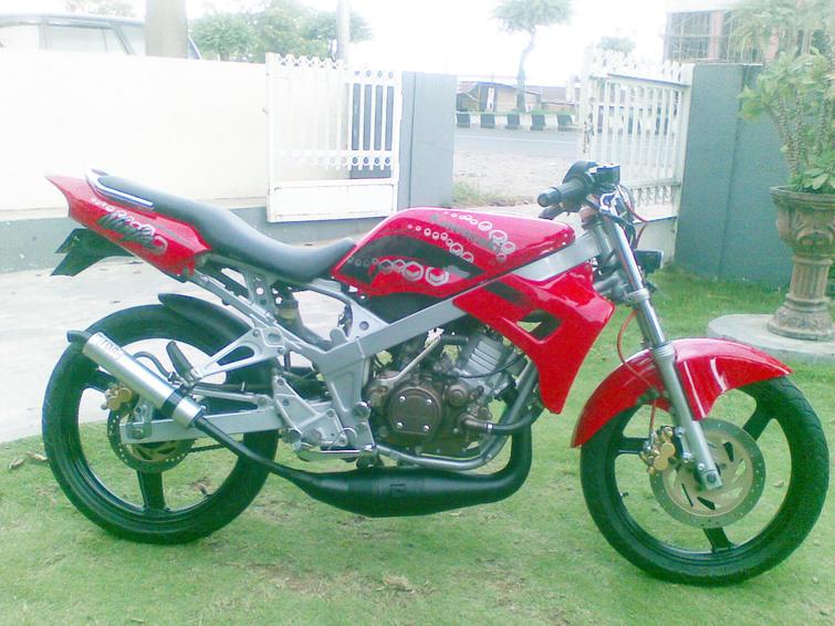 Kawasaki Ninja 150 R Modifikasi : title=