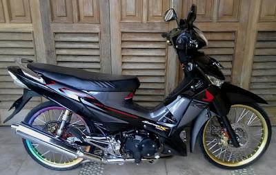 Gallery Foto Modifikasi Motor Yamaha Mio Jupiter Vixion